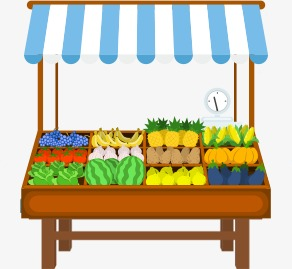 Fruit stand clipart 9 » Clipart Station.