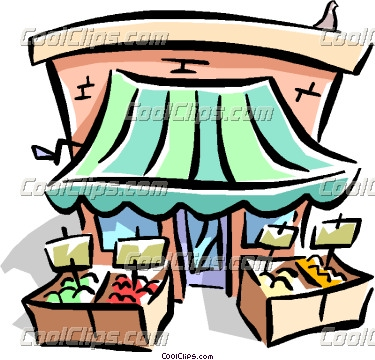 Produce Stand Clipart)..