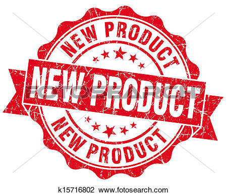 Clip Art of New Product Grunge Stamp k15716802.