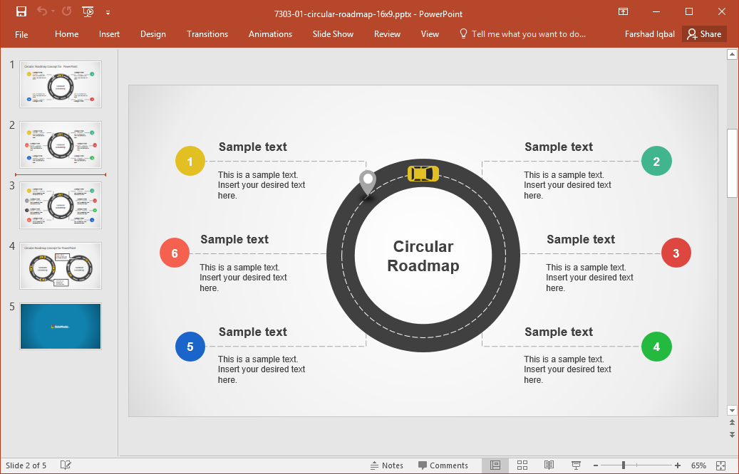 Best Roadmap Templates For PowerPoint.