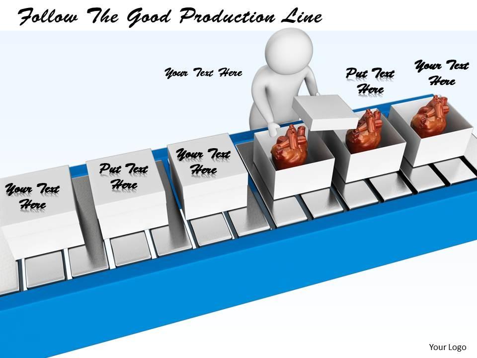 Production line clipart.