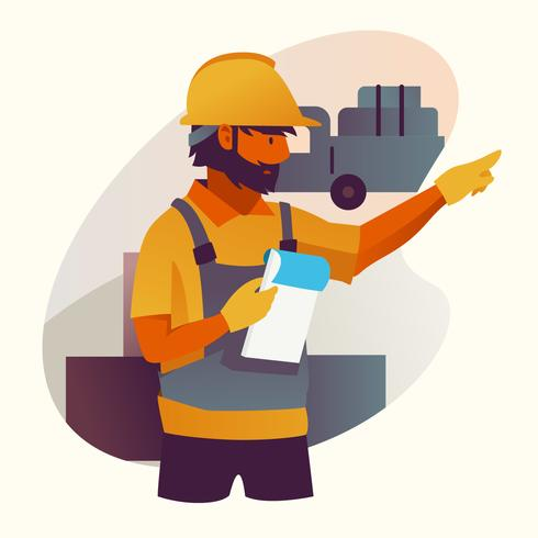 factory worker.