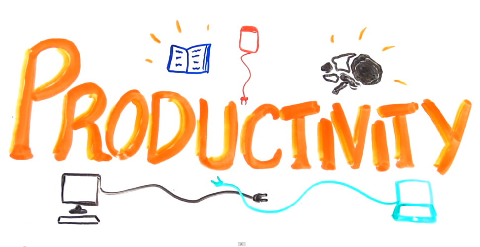 Free clipart student productivity.