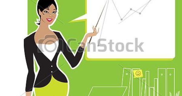 business woman clip art.