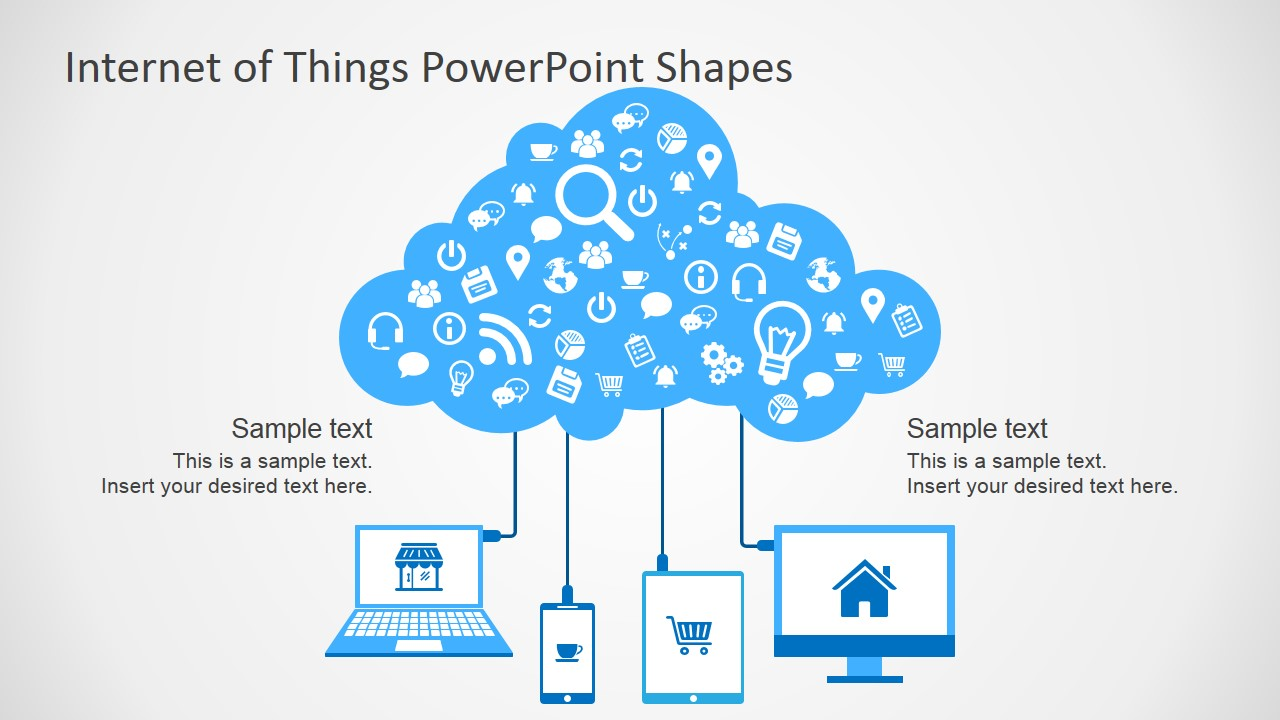 Internet of Things PowerPoint Template.