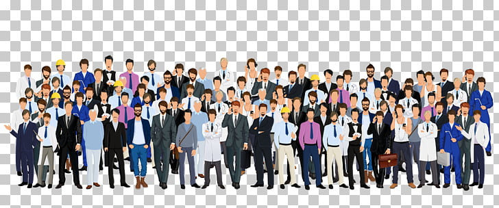 Stock illustration Crowd Illustration, Businessman.