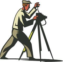 Professional photographer clipart.