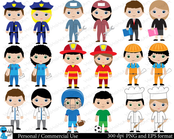 Professions clipart pictures.
