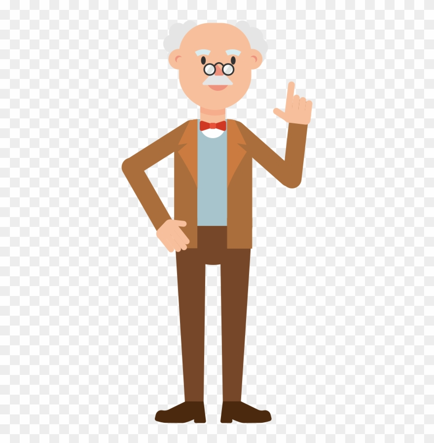 Professor Cartoon Png Transparent Clipart (#1368958.