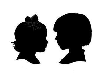 profile silhouette.