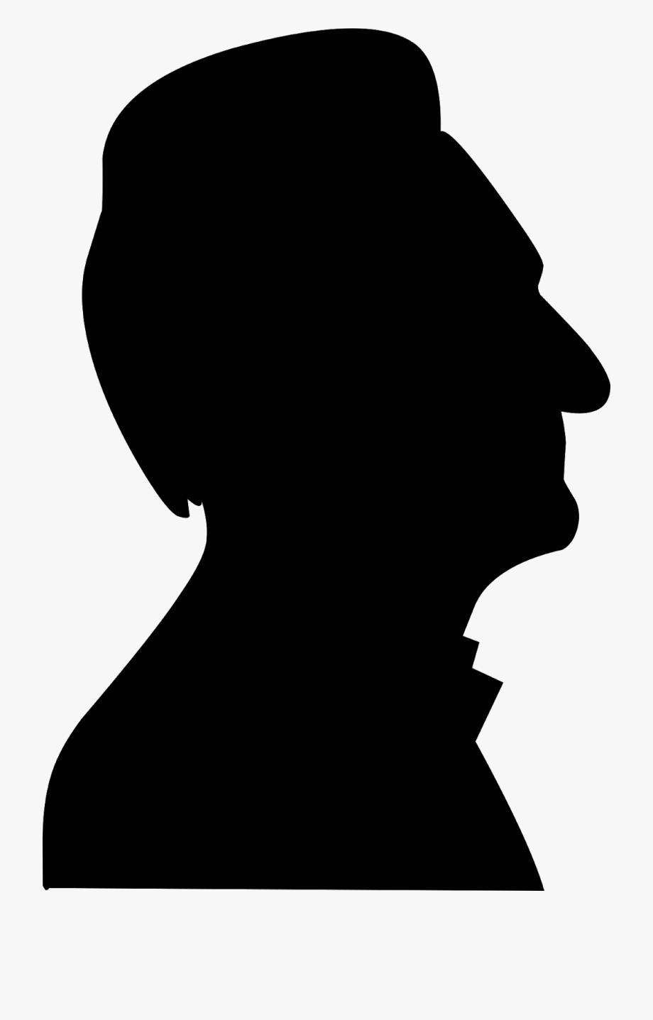 Elder, Face, Silhouette, Male, Man, Adult, Age, Alone,.