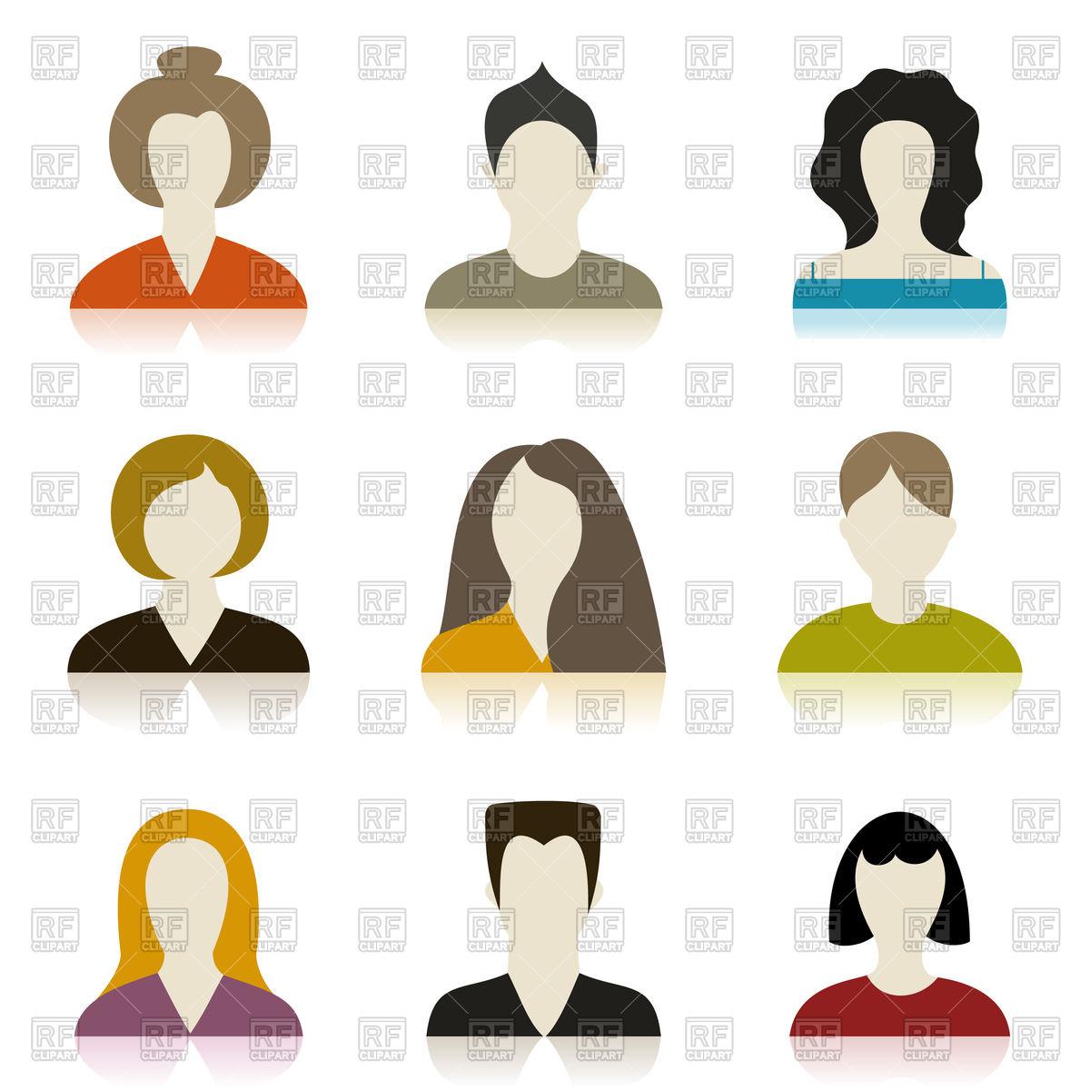 Profile Vectors: Images & Graphics.