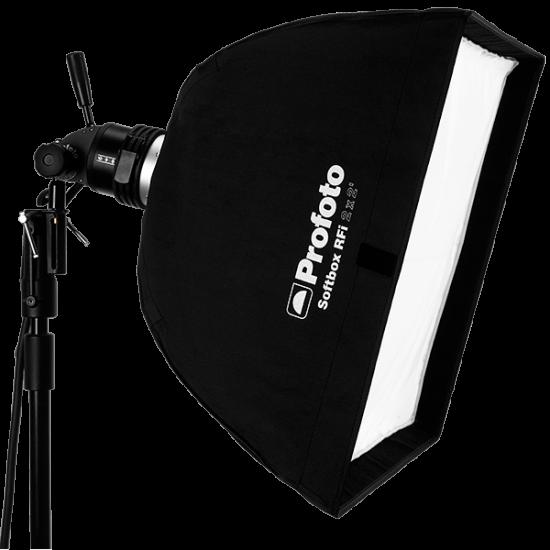 Profoto RFi 2 x 2\' Softbox (60x60cm).