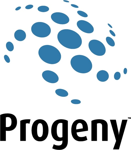 Progeny Free vector in Encapsulated PostScript eps ( .eps ) vector.