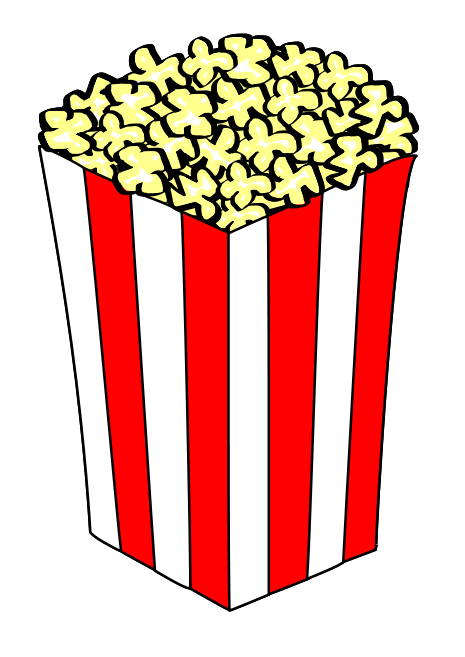 Popcorn Clip Art Programmable.