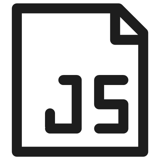 development extension filetype javascript programming icon.