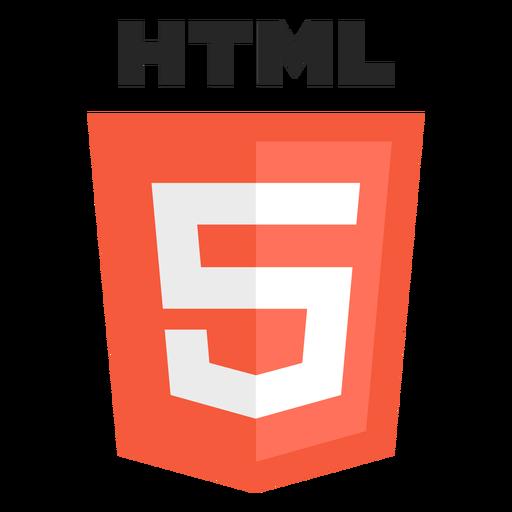 Html programming language icon.