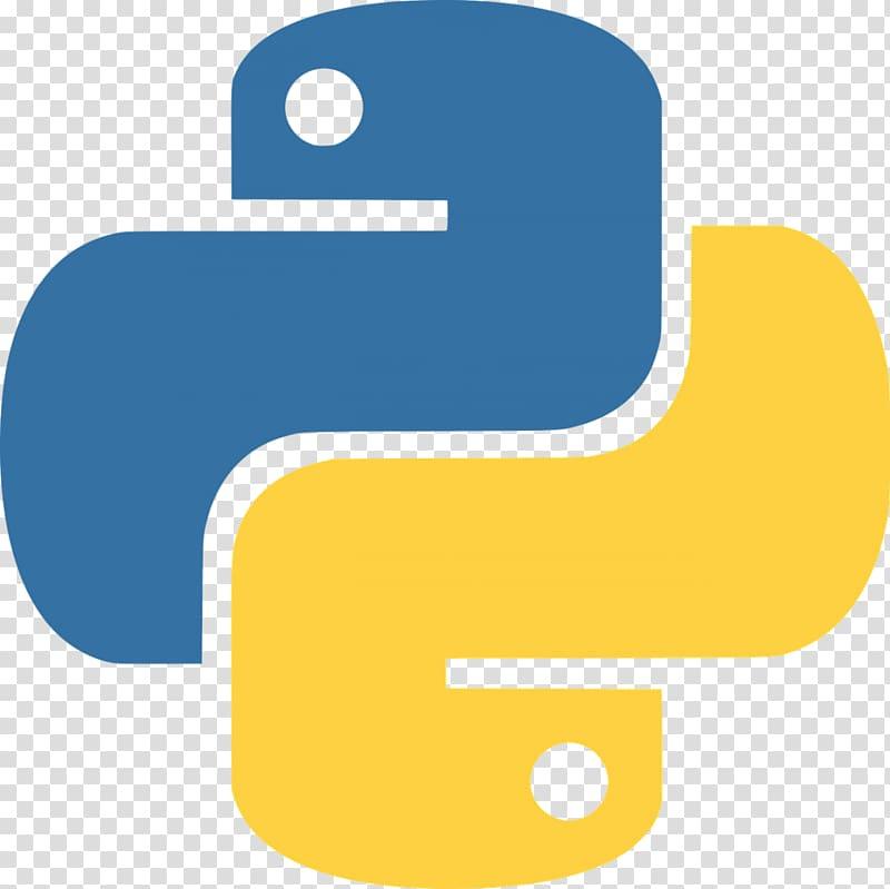 Blue and yellow logo, Python Logo Clojure JavaScript, 9.