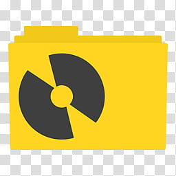 Simply Styled Icon Set Icons FREE , Programs Folder, yellow.