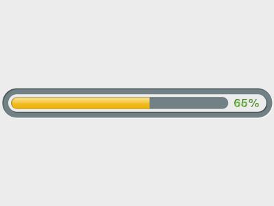 Free clipart progress bar.