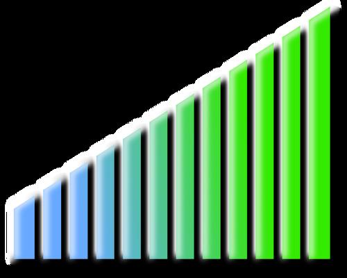 Progress bar vector image.