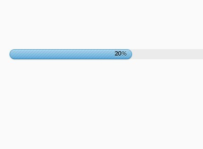 Smooth Progress Bar Loading Effect With jQuery.