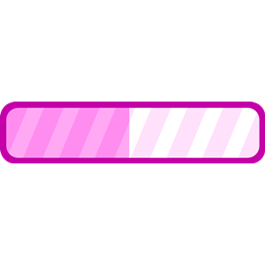 Pink Progress bar clipart, cliparts of Pink Progress bar.
