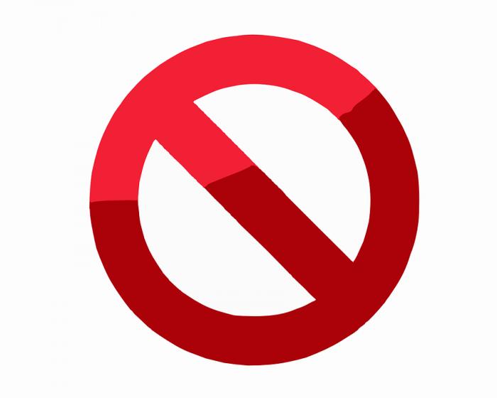 Logo Prohibido Png Vector, Clipart, PSD.