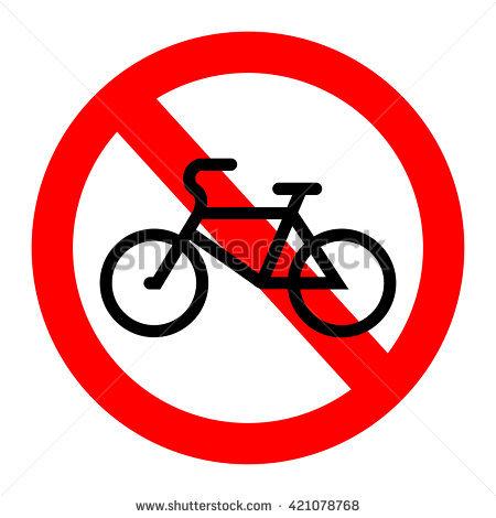 Bike Ban Banco de imágenes. Fotos y vectores libres de derechos.