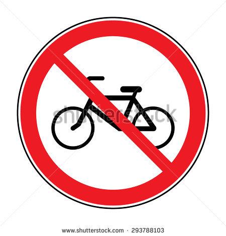 No Bikes Allowed Sign Stock Photos, Royalty.