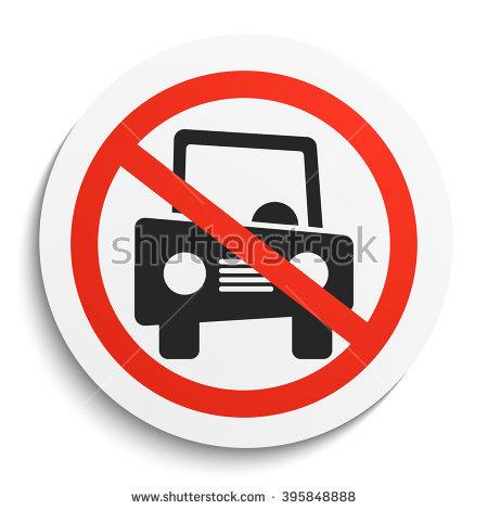No Motor Vehicles Stock Photos, Royalty.