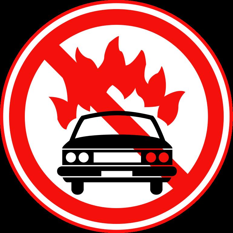 Prohibited Sign.