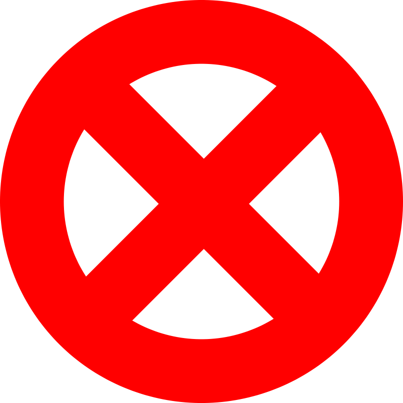 Free Prohibited Sign, Download Free Clip Art, Free Clip Art.