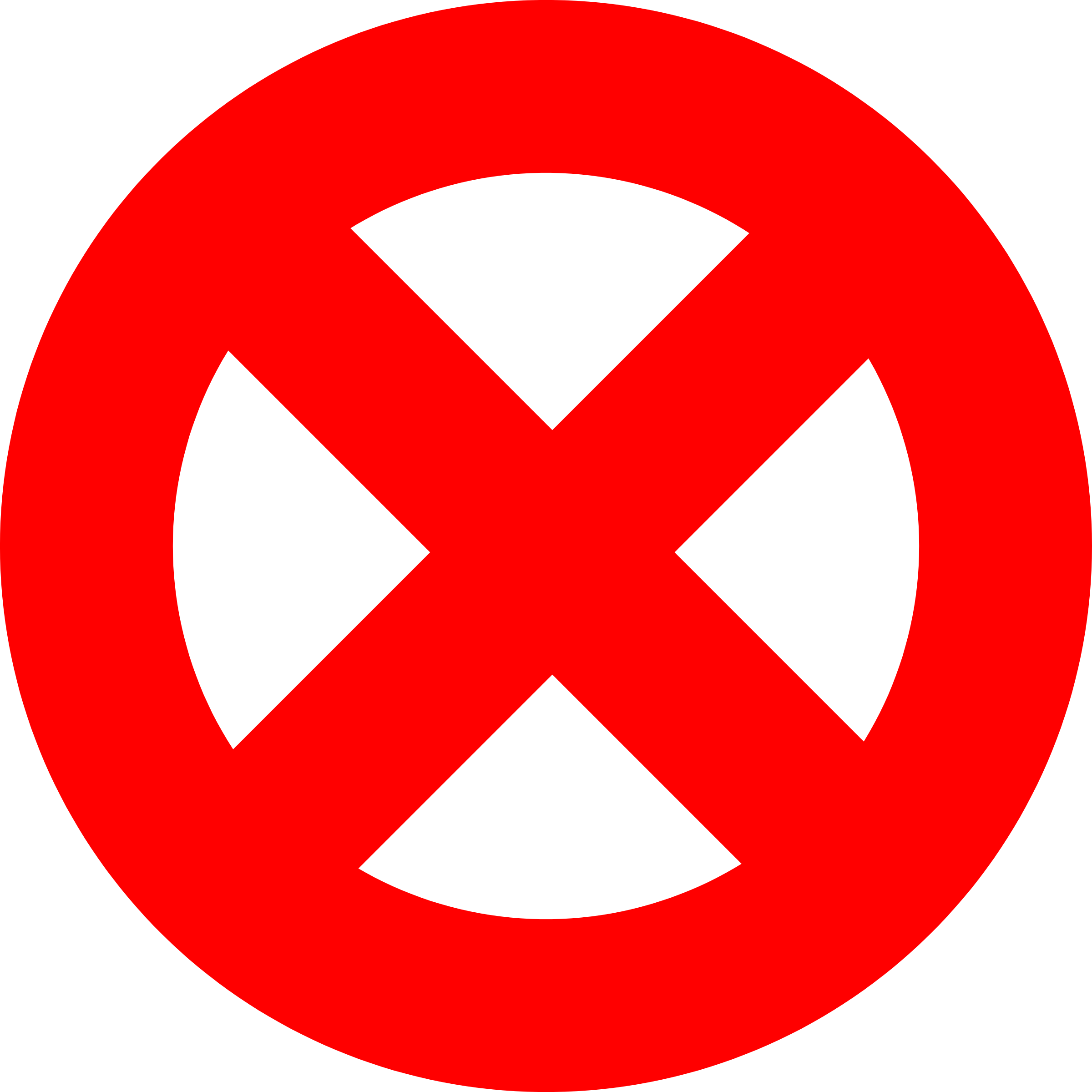 Clipart prohibited sign.