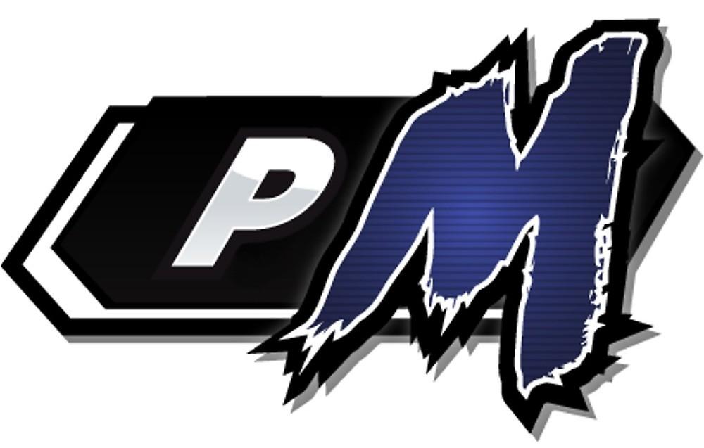 Project M logo Sticker\
