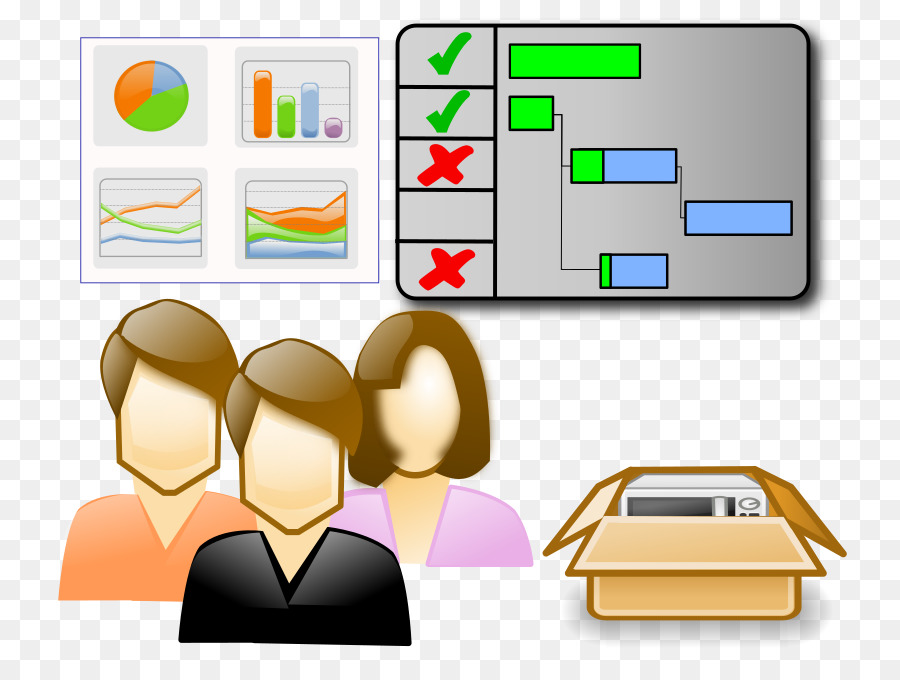 Project Management Icon clipart.