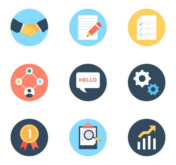 36 project management icon packs.