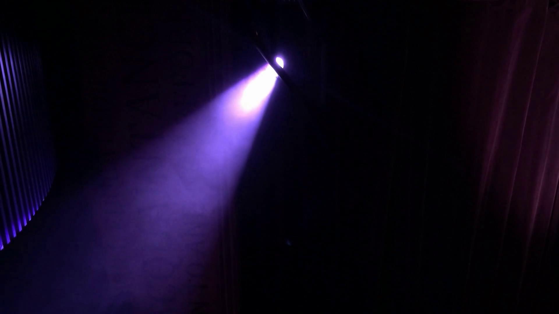 Projector Light Beam Stock Video Footage.