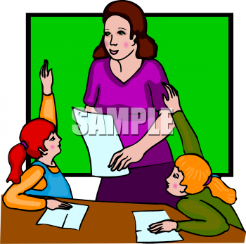 School Teacher Clip Art.