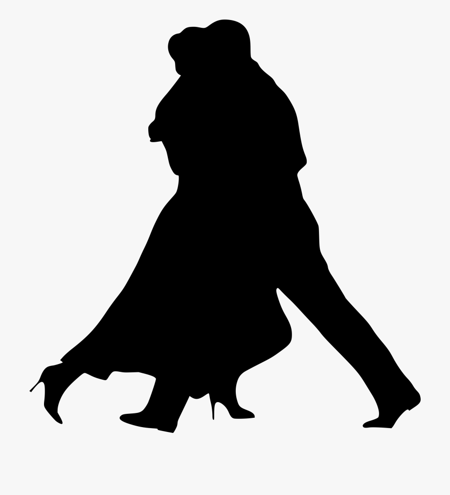 Prom Clipart Elegant Couple.