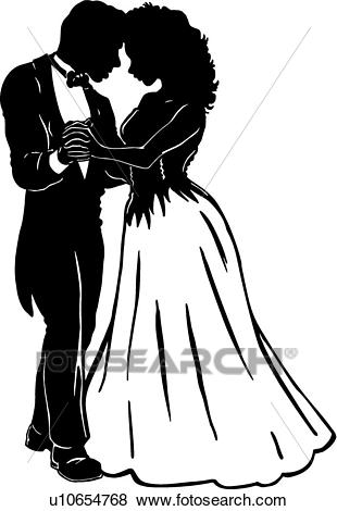 Prom couple clipart 3 » Clipart Station.