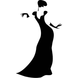 Free Prom Dress Clipart.