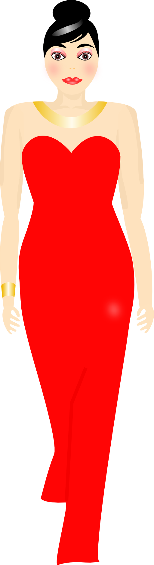Prom Dress Clipart.
