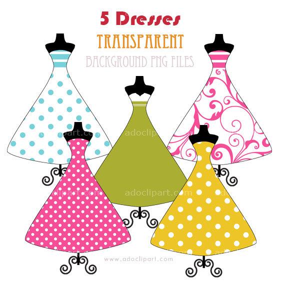 Prom Dress Clipart.