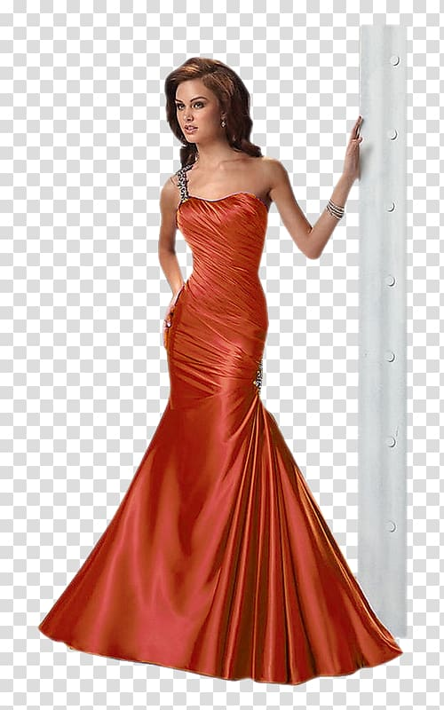 Evening gown Prom Dress Formal wear, dress transparent.