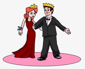 King And Queen Prom, HD Png Download , Transparent Png Image.
