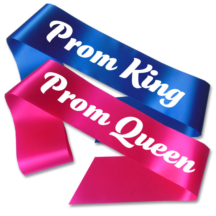 Prom king and queen clipart.