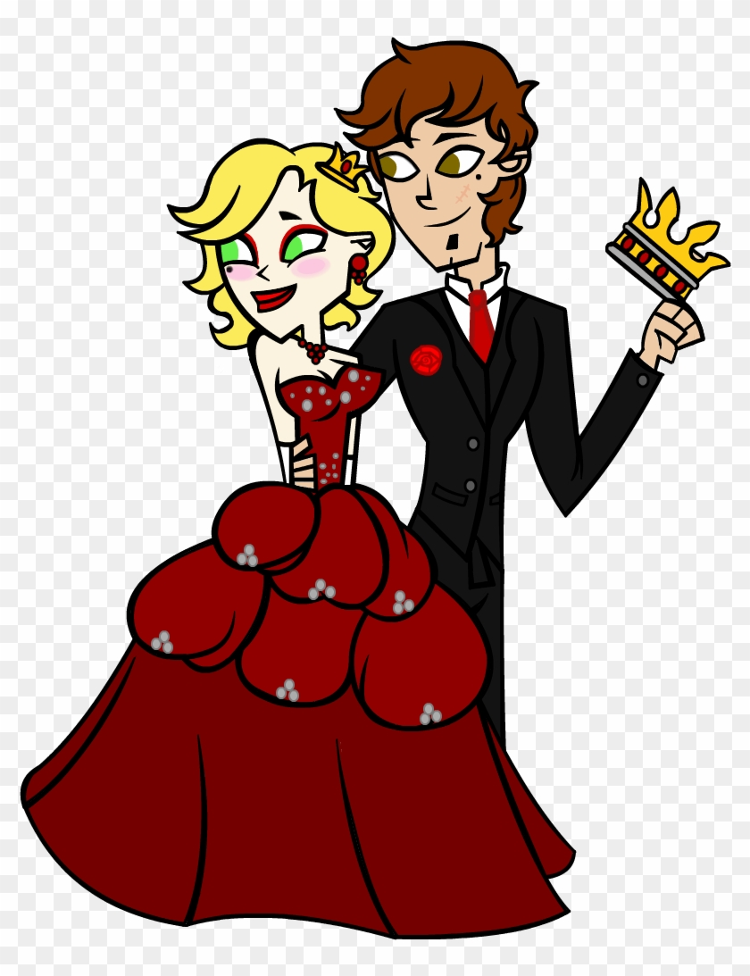 Prom King And Queen Png.