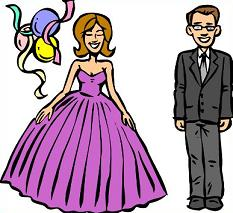 Prom clipart 2 » Clipart Station.