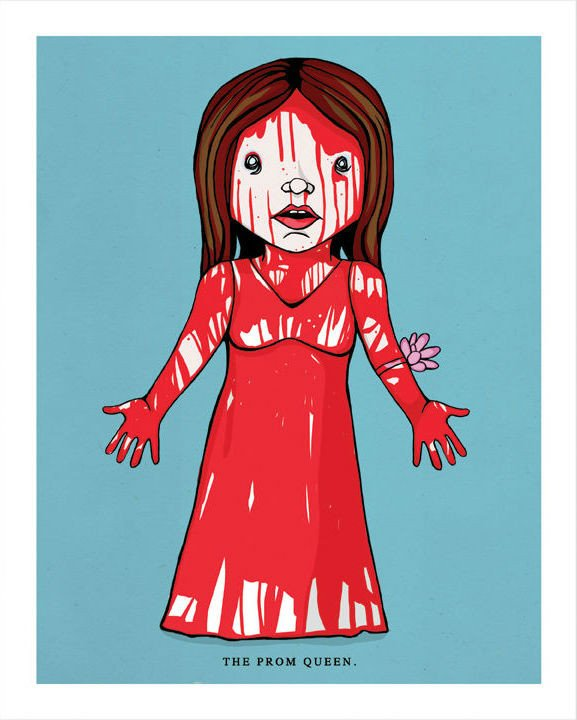 Carrie Stephen King Clip Art.